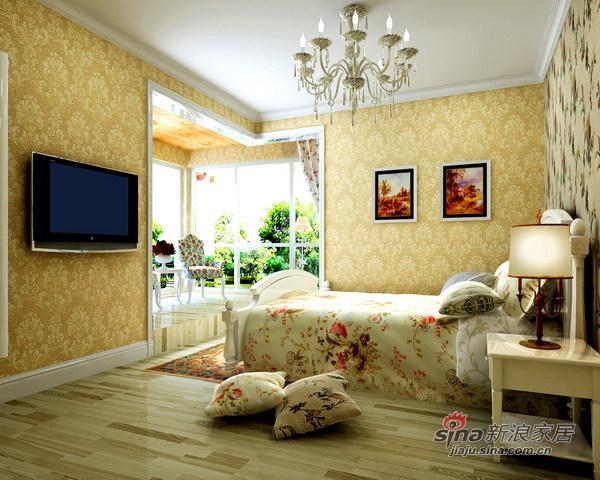 田园 四居 卧室图片来自用户2557006183在顺义新城田园之美29的分享