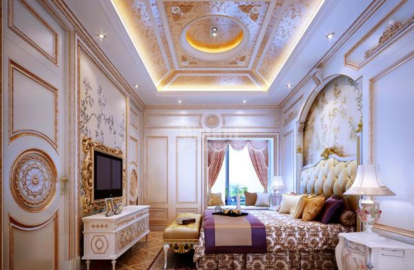 其他 别墅 卧室图片来自用户2737948467在鸣仁装饰358平法式风格淮北翡翠岛44的分享