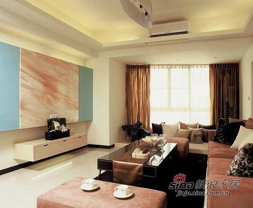 简约 二居 客厅图片来自用户2557979841在8.6万装白领86㎡简约两居98的分享