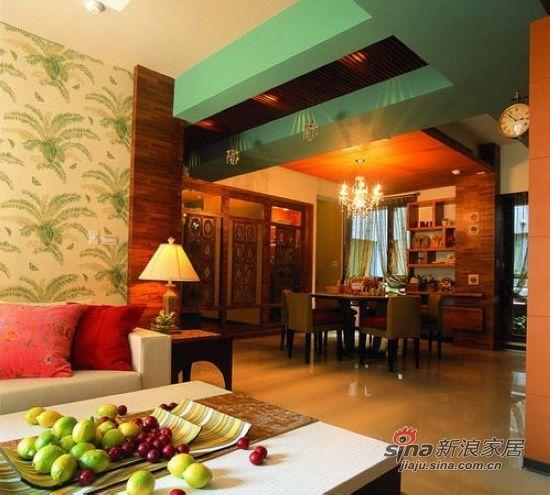 混搭 三居 客厅图片来自用户1907655435在【多图】简约田园混搭美家设计实景图40的分享