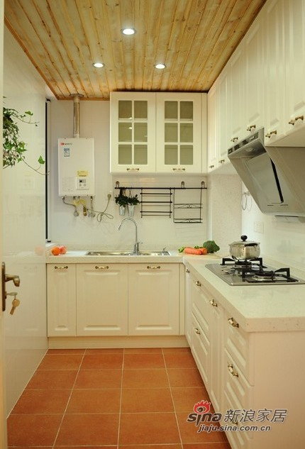 田园 三居 厨房图片来自用户2557006183在14万装83平地中海混搭田园温馨家81的分享
