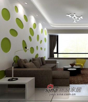 简约 二居 客厅图片来自用户2737786973在90平初春新绿三居仅4万37的分享