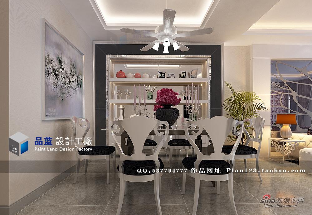 欧式 三居 餐厅图片来自用户2757317061在《时尚女王》--132平米样板房36的分享