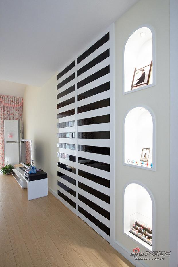 简约 复式 客厅图片来自用户2558728947在kitty控2室2厅复式童话小屋22的分享