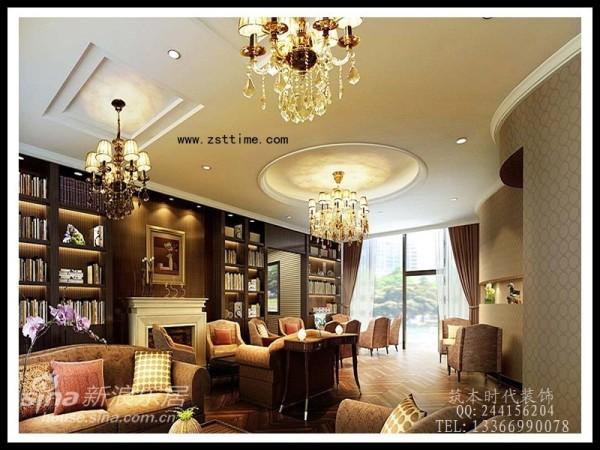 中式室内设计 美式室内设计