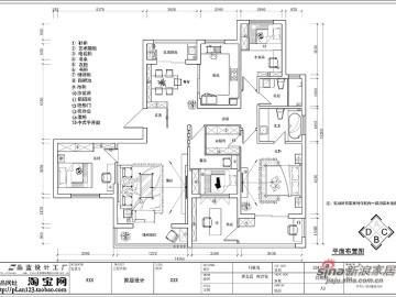 【高清】18万打造149平锦绣华城现代简约36