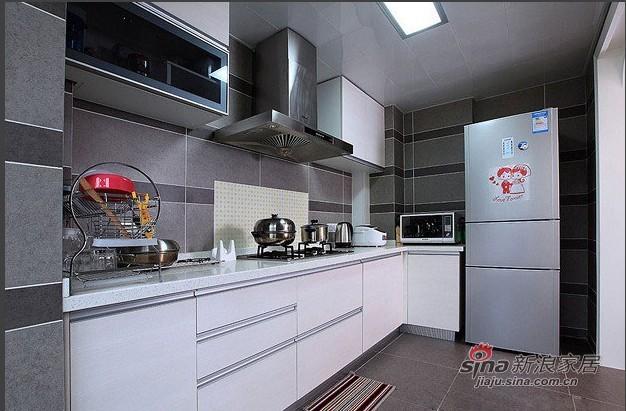 简约 二居 厨房图片来自用户2557979841在5万4铸造120平2居现代简约风52的分享