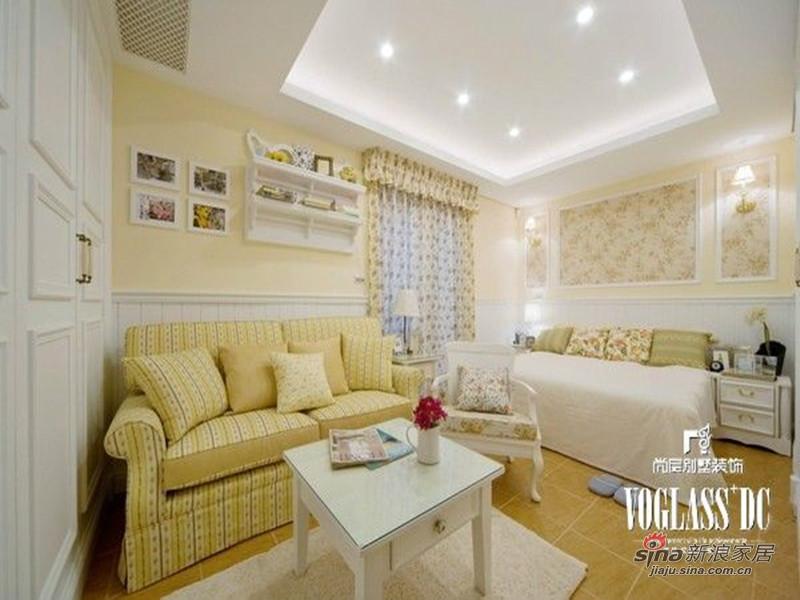 美式 别墅 客厅图片来自用户1907685403在欧香小镇517平美式乡村风格44的分享