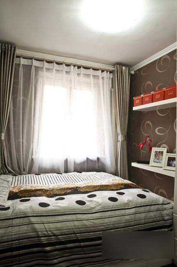 简约 二居 卧室图片来自用户2739378857在12万打造50平时尚四口之家49的分享