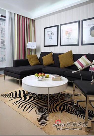 客厅沙发,黑色深沉