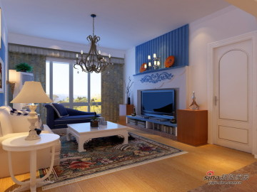 125平温馨爱情公寓地中海风格28