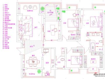 【高清】黑白小奢华200平米现代风格设计20