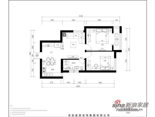 简约 二居 客厅图片来自用户2739153147在6.7万打造实用、平稳简洁实用二居79的分享