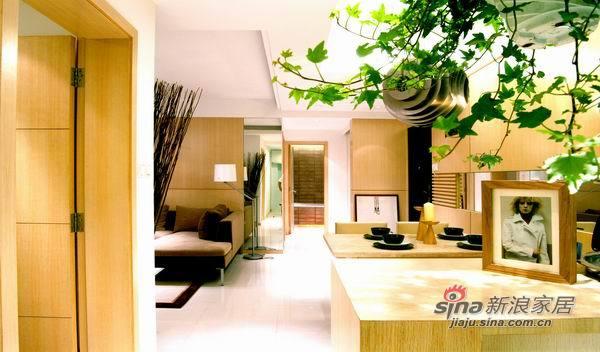 现代 三居 客厅图片来自佰辰生活装饰在9万装100平简约而又温馨家30的分享