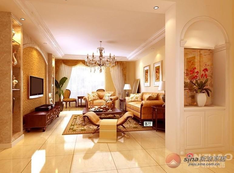 简约 三居 客厅图片来自用户2739081033在西山林语 120平米 现代简约风格85的分享