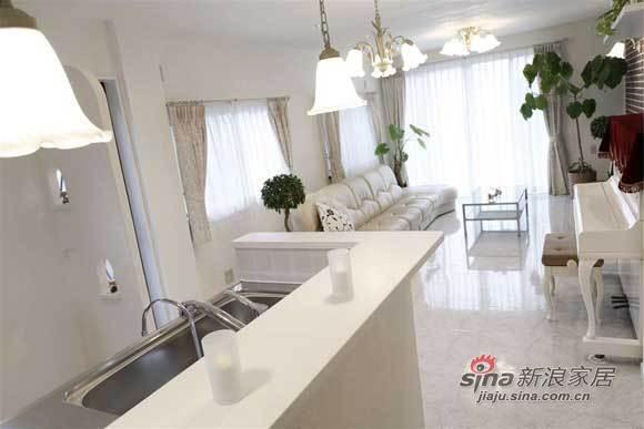 简约 三居 客厅图片来自用户2739081033在夫妻9万硬装123平纯白简约家80的分享