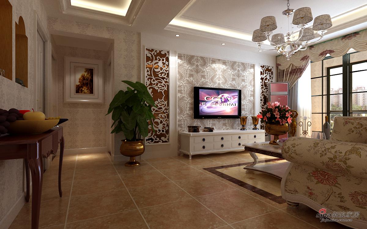 其他 三居 客厅图片来自用户2771736967在优雅白调三居室30的分享