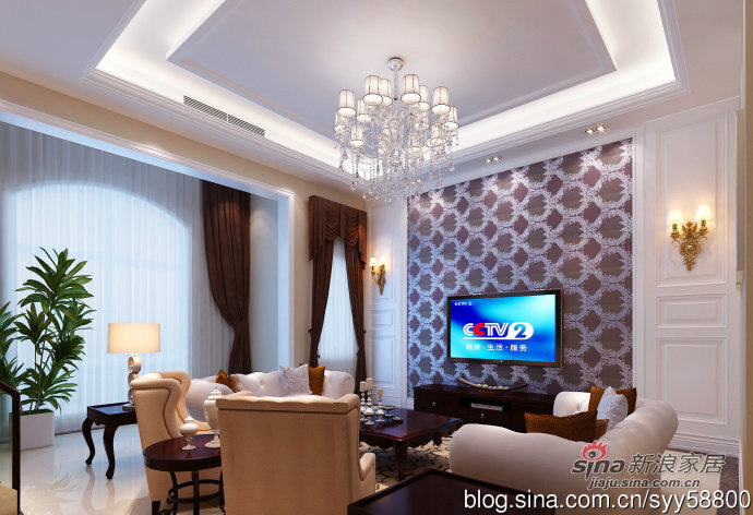 欧式 别墅 客厅图片来自用户2772856065在我的专辑868004的分享
