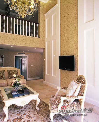 田园 别墅 客厅图片来自用户2737946093在450平联排别墅宁静的田园风格94的分享