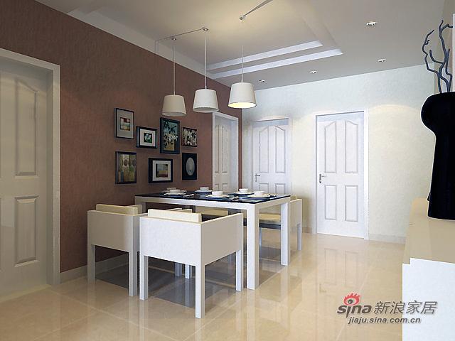 简约 二居 餐厅图片来自用户2739378857在简约大方时尚而实用瑞城两居室设计54的分享