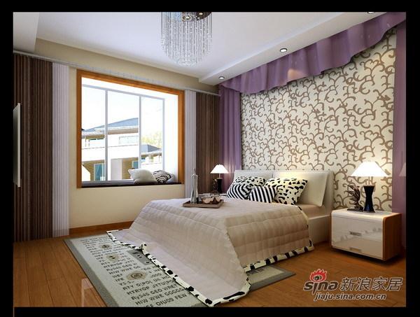 简约 一居 卧室图片来自用户2739378857在紫金新干线B1户型77的分享
