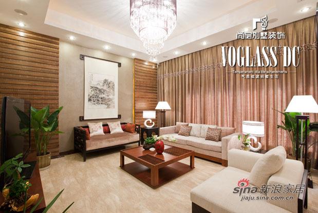 混搭 别墅 客厅图片来自用户1907655435在370平米混搭风格装修45的分享