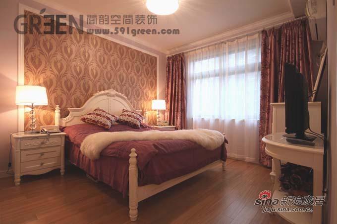 欧式 二居 客厅图片来自阁韵空间装饰在紫色馨香38的分享