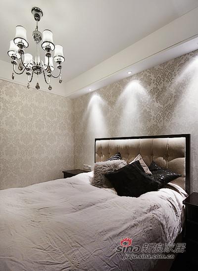 新古典 三居 卧室图片来自用户1907701233在【高清】8万装126平新古典时尚大气家31的分享