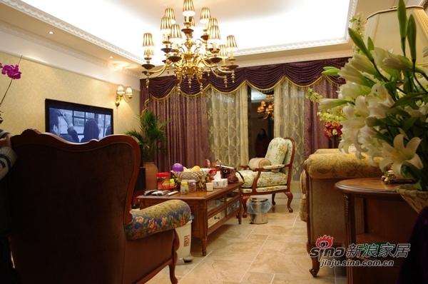 欧式 三居 客厅图片来自用户2757317061在8万120平欧式典雅品味3居91的分享