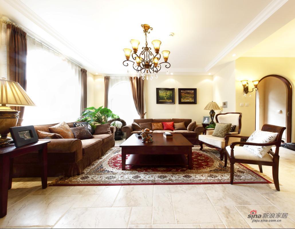 欧式 别墅 客厅图片来自用户2745758987在【多图】龙湖400平米托斯卡纳风情70的分享