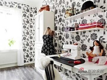 71平米 黑白花色欧式公寓76