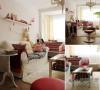 家具都采用了简约的风格,软装和小饰品上则