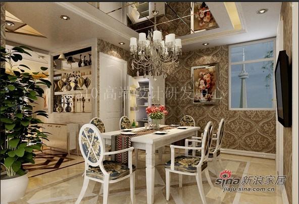 欧式 三居 餐厅图片来自用户2746889121在高贵典雅的简欧72的分享