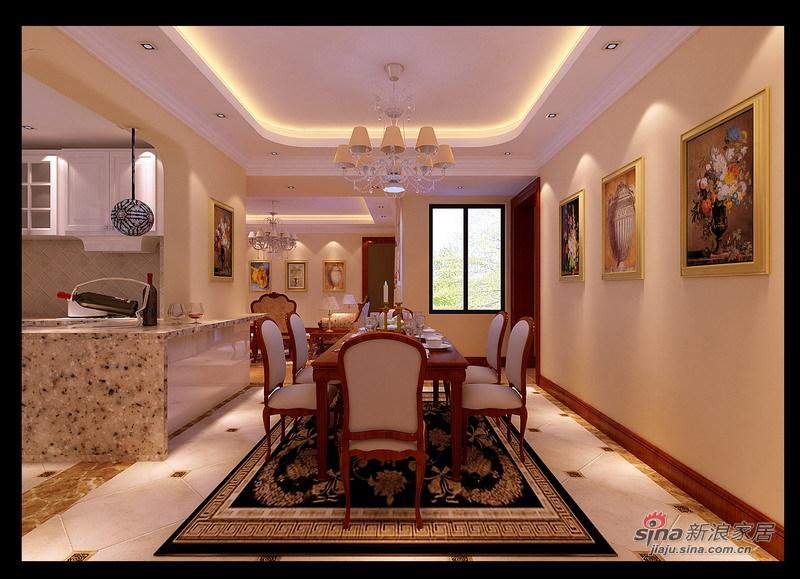 欧式 别墅 餐厅图片来自用户2745758987在孔雀城227平现代欧式风格别墅设计22的分享