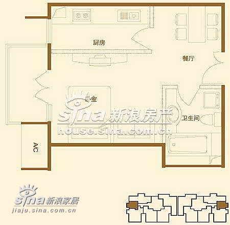 简约 一居 其他图片来自用户2738820801在上京新航线69的分享