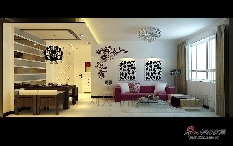 简约 二居 客厅图片来自用户2738820801在简约爱家83的分享