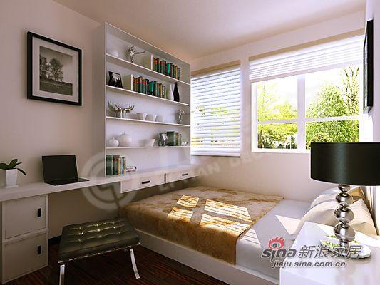 简约 二居 卧室图片来自阳光力天装饰在清爽大气,就在这里!94的分享