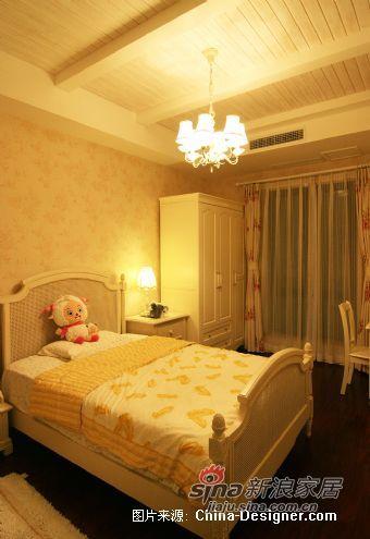 欧式 别墅 卧室图片来自用户2746869241在260万打造的368平杭州别墅47的分享