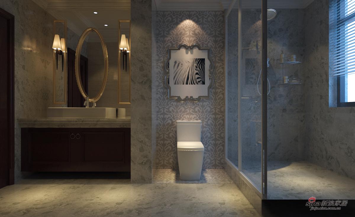 欧式 三居 卫生间图片来自用户2772873991在夫妻的130平温馨小资婚房88的分享