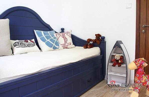 地中海 二居 卧室图片来自用户2756243717在贤惠太太晒91平网购地中海2居31的分享