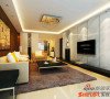 :二手房装修:130平三居室简约设计风格88