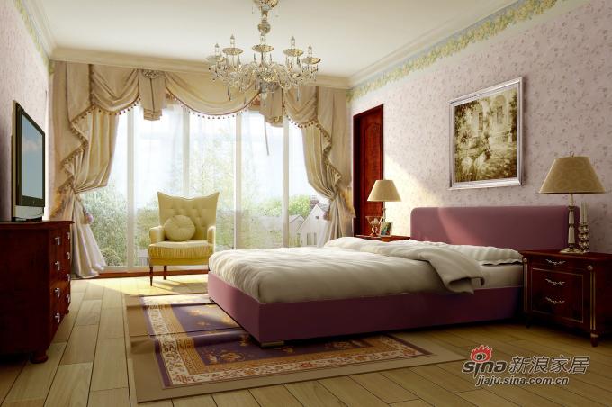 欧式 三居 卧室图片来自用户2772856065在珠江道12号171平米混搭三居60的分享