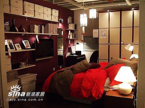 简约 一居 卧室图片来自用户2558728947在成都宜家样板间79的分享