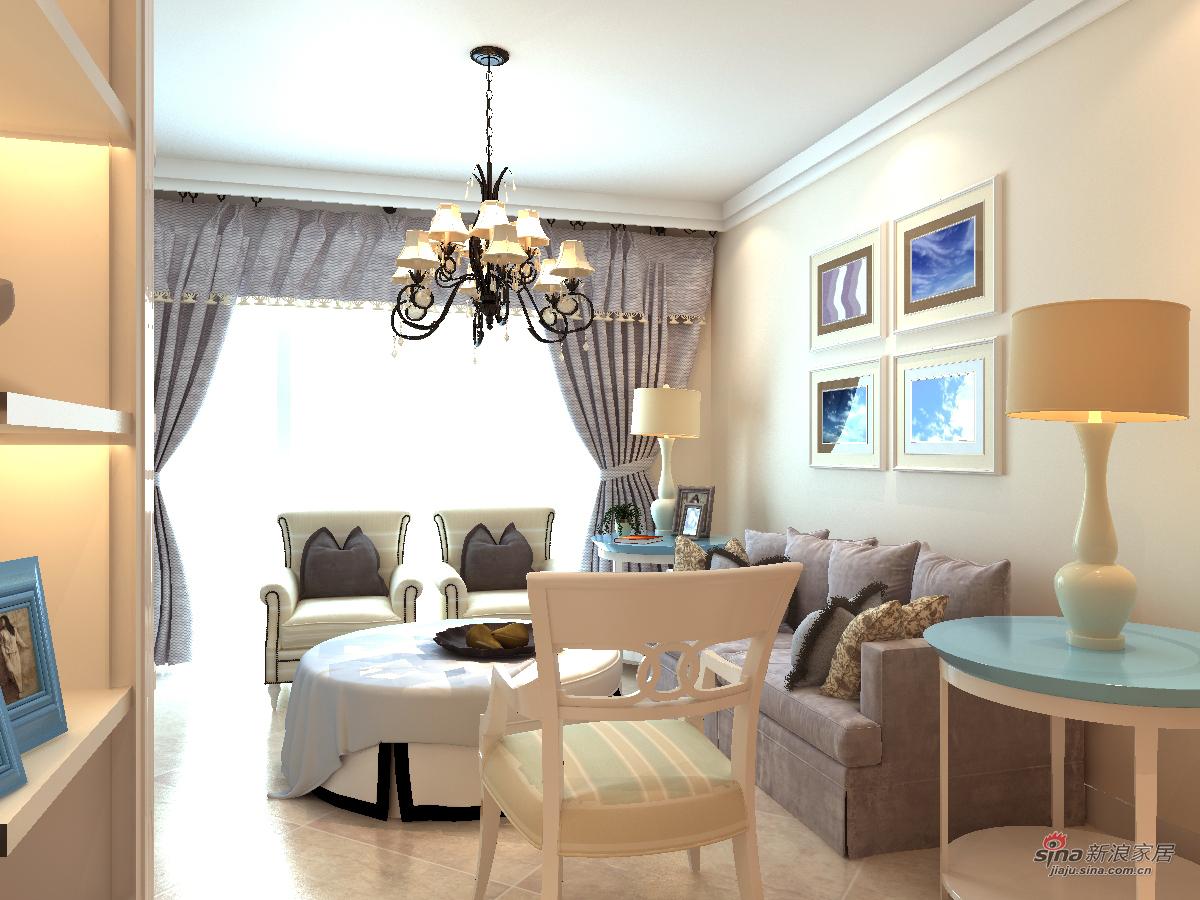 地中海 三居 客厅图片来自用户2756243717在融侨锦江97的分享