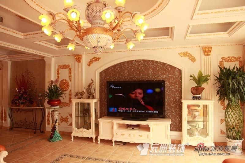 田园 二居 客厅图片来自用户2737946093在古典家居风洗礼装修时尚81的分享