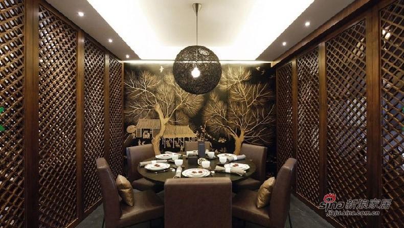 中式 复式 餐厅图片来自用户1907658205在苏州人士20万装160平方现代中式复式52的分享