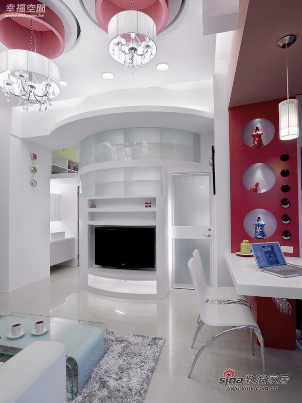 简约 二居 客厅图片来自幸福空间在小夫妻的56平现代时尚小窝窝76的分享