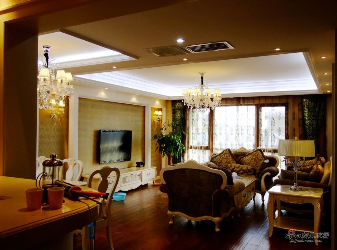 欧式 复式 客厅图片来自用户2772873991在简欧里的生活气息74的分享