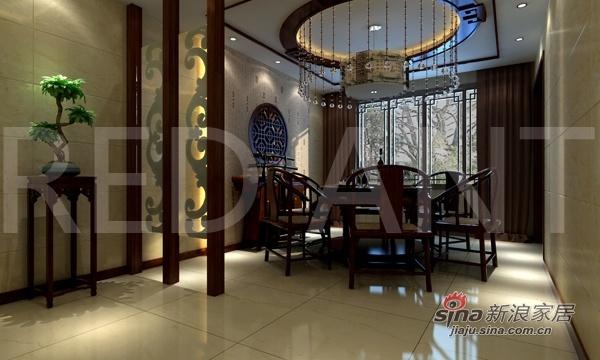 简约 三居 餐厅图片来自用户2739153147在15万搭配130平精装观湖寓所19的分享
