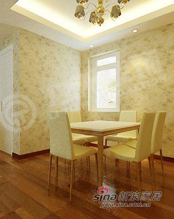欧式 二居 餐厅图片来自阳光力天装饰在品味在不经意中流露--犀地58的分享